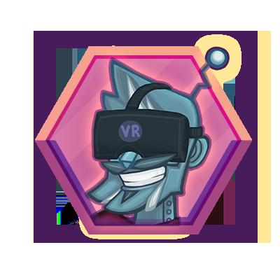 Virtual reality module icon.